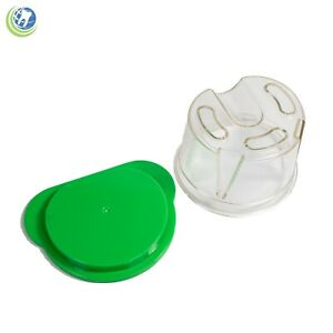 Dental Plastic Duplicating Flask Pourable Acrylic Technique Vps Silicone Denture