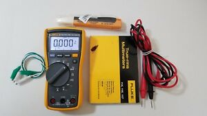 Used Fluke 116 Trms Multimeter With Manual And Test Leads Tp 239366