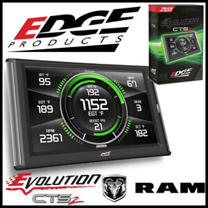 Edge Products Evolution Cts2 Tuner Monitor Fits 2003 2012 Dodge Ram Diesel