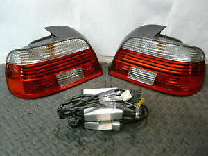 98 03 Bmw E39 528 530 540 M5 Hella Led Taillights Pair W Ballasts Kit Oem