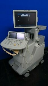 Philips Ie33 Ultrasound Machine With L8 4 Transducer