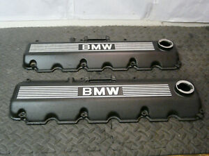 Bmw E30 E34 M20b25 Valve Cover Wrinkle Black