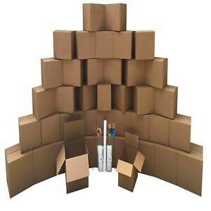 Smart Moving Bigger Boxes Kit 3 40 Moving Boxes Packing Supplies