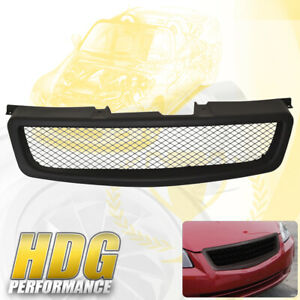 Fits 2005 2006 Nissan Altima Abs Black Upper Front Bumper Grille Grill Jdm