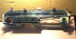 To The Ford Galaxie 500 And Beyond Dash Panel All Gauges Speedometer