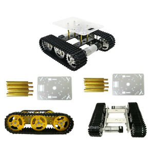 T100 Smart Wireless Metal Robotic Tank Car Chassis Kits Motor For Arduino 9v