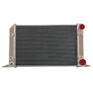 56mm 2row 1 tube Drag Aluminum Radiator For Vw Scirocco pro Stock Style Warranty