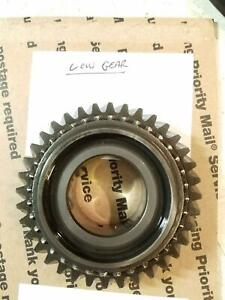 86 95 Suzuki Samurai 5 Speed Transmission Low Gear 1st First Gears Trans Part