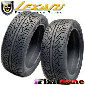 2 Lexani Lx thirty 275 40zr20 106w Xl Ultra High Performance Tires 275 40 20 New