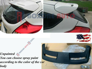 Unpainted H648 Add On St Rear Trunk Spoiler For 11 18 Ford Focus Mk3 Hatchback