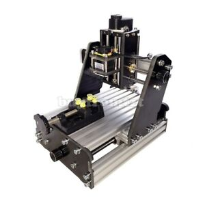3axis Cnc Router Mini Laser Engraver Wood 775 Motor Kit Unfinished 2500mw Laser