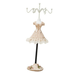Metal Necklace Jewelry Rotating Earring Bracelet Display Stand Holder Rack e