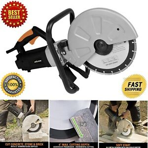 12 Electric Disc Cutter Cuts Concrete Stone Brick Paving Easy To Use