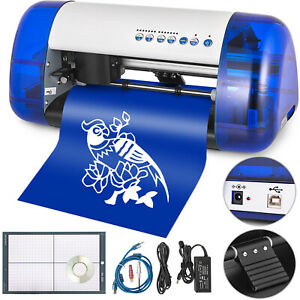 A4 Sign Vinyl Cutter Cutting Plotter Machine Laser Contour Cut Function Craft