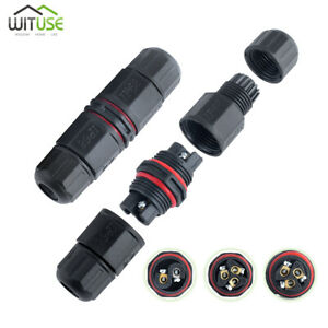 Electrical Cable Wire Joint Connector Ip68 Waterproof For Outdoor Use 250v A6e4