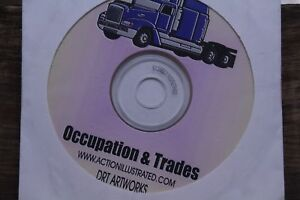 Action Illustrated Clip Art Occupation Trades 1000 Eps Vector Images