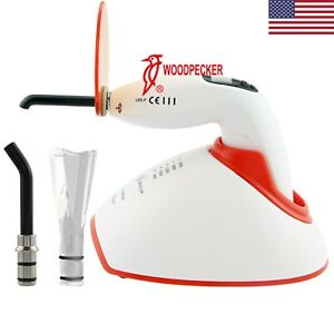Woodpecker Dental Curing Light Lamp Teeth Whitening Accelerator Led F Plus