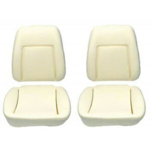 Camaro Bucket Seat Foam Cushions With Reinforcing Wire Deluxe Interior 1969