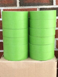 Automotive Masking Tape Half Case 2 X 55 Green 12 Rolls Excellent Quality