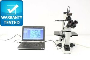 Olympus Ckx41 Inverted Phase Contrast Microscope Ckx41sf Unit 3