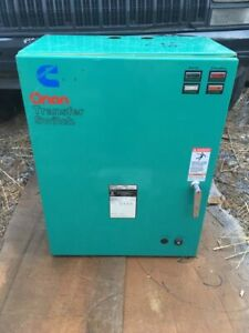 Onan Ot 125 Generator Transfer Switch 208 240v 125a 3ph
