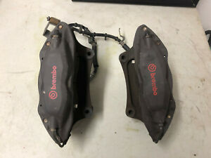 2011 12 13 2014 Ford Mustang Gt Track Pack 4 Piston Brembo Front Brake Calipers