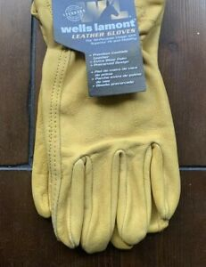 3 Pack Size Xl Wells Lamont Weather Resistant Leather Work Gloves