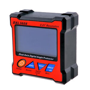 Dxl360s Dual Axis Digital Angle Level Gauge With 5 Sides Magnetic Base Level