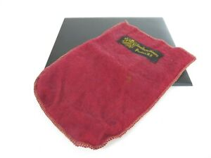 Vintage Providence Ri Jeweler Mohair Storage Pouch For Sterling Mint Julep Cup