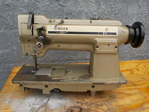 Industrial Sewing Machine Model Singer 211 Single Walking Foot Leather