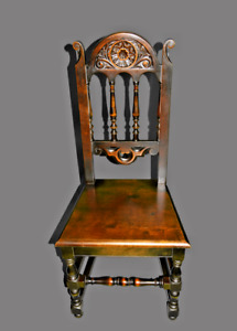 Vintage Spanish Revival Renaissance Accent Chair By Elgin A Simonds Furniture C