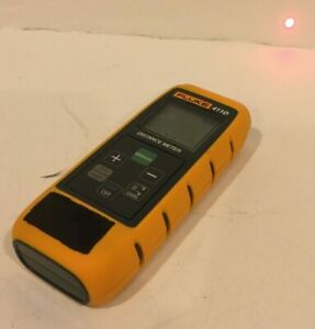 Fluke 411d Laser Distance Meter Tape Measure With Case Construction Tool Area