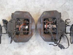 Porsche Cayenne Audi Q7 Vw Touareg Rear Pair Brembo Brake Calipers 20 9225 13