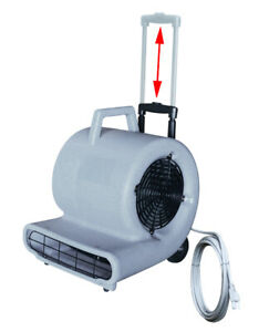 Air Mover Blower Floor Fan 3speed Carpet Dryer With Handle Gray 741721 bai
