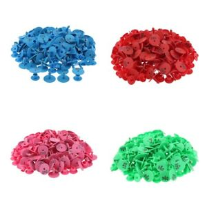 4 color 400pcs Small Pre Numbered Livestock Ear Tags For Pig Cow Goat Sheep