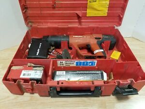 Hilti Dx A41 Power Actuated Variable Power Nail Gun With Case