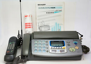 Sharp Ux t35cl Thermal Transfer Fax Facsimile Machine Copier W Cordless Phone