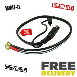 Battery Tender Charger Quick Connector Cable Cord Ring Terminal Harness 18 Long