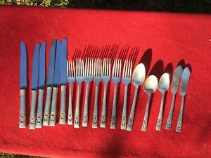Lot 18 Pieces Oneida Community Coronation Silver Plate Flatware You Polish