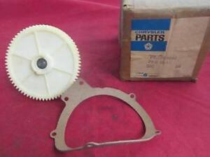 Variable Or 3 Speed Wiper Gear Fits 67 68 A And B Body Models Nos Mopar 2808862