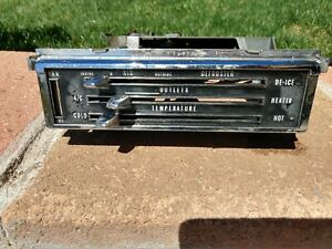 New 1965 66 Impala Heater Control Heat Climate With A C Impala Bel Air Chevy