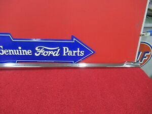 1956 Ford Fairlane Trim Molding Nos Right Front Fender f764