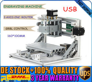 Mini Cnc 1610 Router Wood Carving Milling Engraving Machine 12v Grbl Control Us