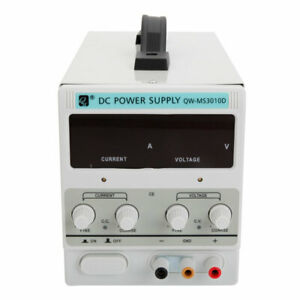 Qw ms3010d 30v 10a Dc Power Supply Adjustable Variable Dual Digital Lab Test Us