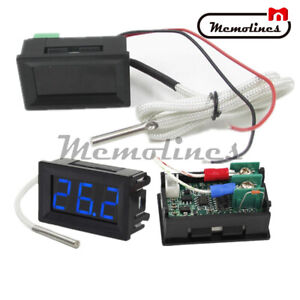 B310 Digital Blue Led Display Thermometer Temperature Meter K type Thermocouple