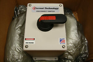 Current Technology Cgp 60a nid Disconnect Switch Ot63f3 60a New In Box