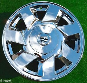 4 New Chrome Cadillac Deville Dts 17 In Oem Factory Spec Wheels Sts Cts Seville