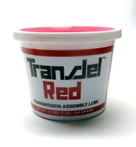 Transjel Red Transmission Assembly Lube 1 Lb Tub