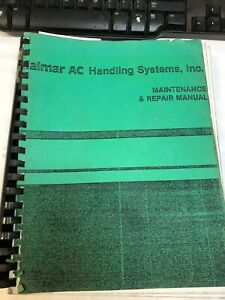 Kalmar Ac Maintenance Repair Manual Teledyne Continental F135 F163 Engine