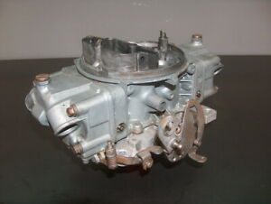 Holley 830 Double Pumper 4 Carburetor 9381 Carb Racing Core Annular Discharge